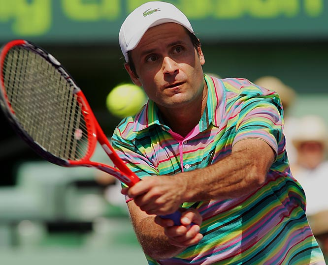 The crafty Frenchman is a throwback, relying on impossible angles, a sliced forehand, deft volleys, and whimsical strategy. He's 34 already, so catch him while you can.