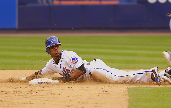 The Mets shortstop is possibly the most exciting player in the game right now, capable of stretching singles into doubles and compiling 100-steal seasons for years to come.