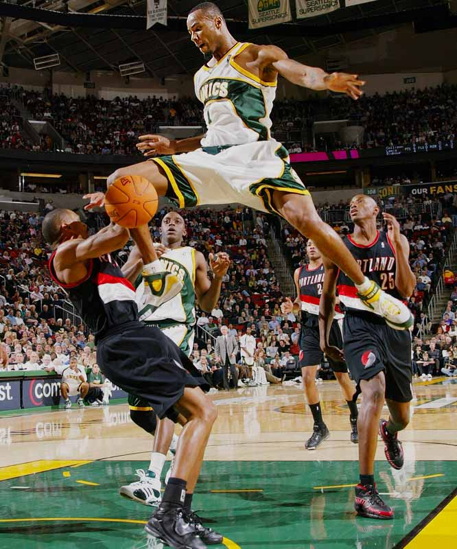 Winning bidder: Magic <br> <br>The 6-10 sharpshooter has committed to Orlando, which has offered a maximum contract. His pending departure from Seattle comes on the heels of the Ray Allen trade, leaving No. 2 pick Kevin Durant as the face of the Sonics' franchise.