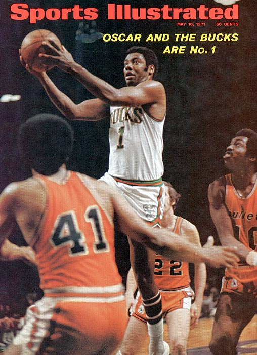 In his first season with the Bucks and Lew Alcindor, Oscar Robertson finally captured an NBA title. The Bucks, who had the best record in the league, dropped just two of 14 playoff games.
