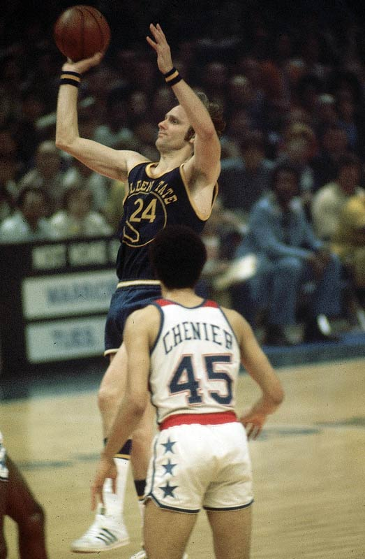 "Elvin Hayes and Wes Unseld were supposed to dominate the series, but were upstaged by Rick Barry and the Warriors' full team effort. Said Golden State coach Al Attles: ""There aren't any old ladies going to churches making novenas for us to win. This team is good. That's why we're winning."""