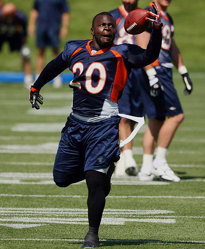 ''I thought he was one of the top running backs in the National Football League last year.... If he stays healthy, I think 1,500 (yards) is a very realistic goal.''<br>-- <i>Broncos coach Mike Shanahan</i>