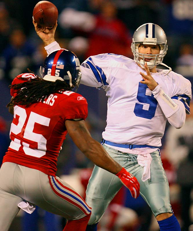 Romo and the Cowboys are in the preliminary stages of talks to extend his contract beyond 2007. Romo feels good about the negotiations and would like to reach an agreement before the start of the season. Though he made the Pro Bowl in 2006, Romo has only 11 career starts and is still a developing player.