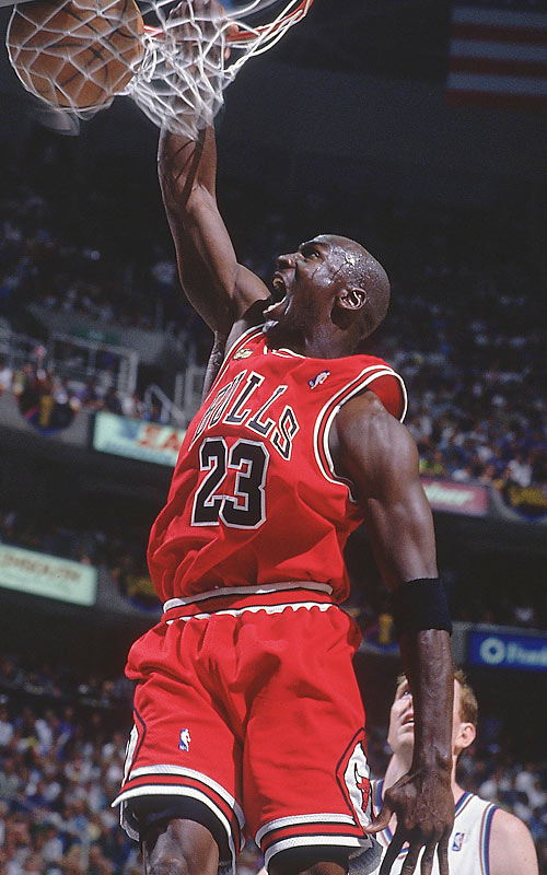Any objections?<br><br>Runner-up: LeBron James.<br><br>Worthy of consideration: Kirk Gibson, Pete Maravich (college), Calvin Murphy, Ryne Sandberg.