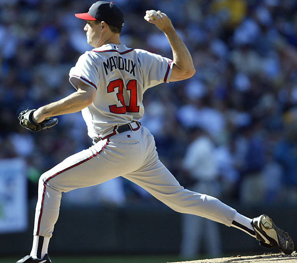 Looks like an accountant, pitches like an assassin. Maddux is a four-time Cy Young winner and has won 340 games over 22 seasons. <br><br>Runner-up: Reggie Miller.<br><br>Worthy of consideration: Fergie Jenkins, Mike Piazza, Billy Smith, Dave Winfield.