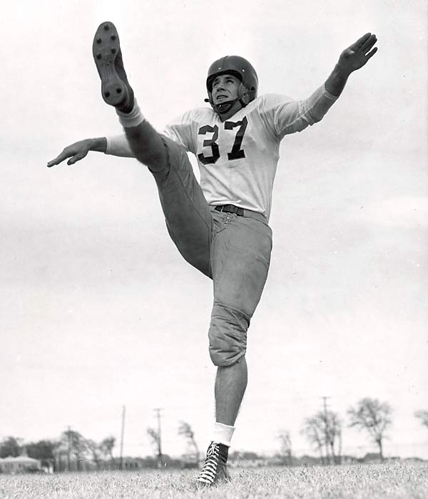 One of college football's greatest performers -- he starred at SMU at running back, defensive back and kicking -- Walker was a four-time Pro Bowler for Detroit and led the NFL in scoring in 1950 and 1955.<br><br>Runner-up: Casey Stengel.<br><br>Worthy of consideration: Shaun Alexander, Lester Hayes.