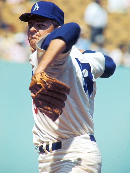 If Koufax didn't get you, this guy would. Drysdale completed 167 of his 465 starts. <br><br>Runner-up: Harry Carson.<br><br>Worthy of consideration: Artis Gilmore, Randy Gradishar.