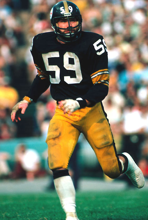 Played his outside linebacker position for the Steelers with surgical precision: 25 sacks, 21 opponents' fumbles recovered and 32 interceptions.<br><br>Runner-up: Seth Joyner.
