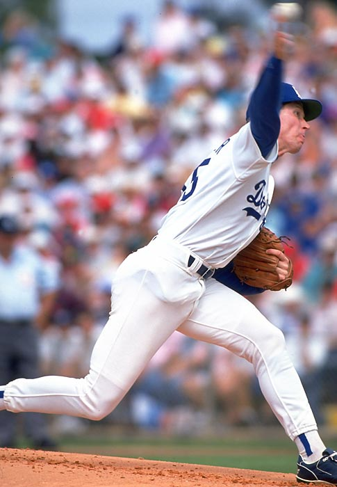 Tough call over Junior Seau, but Hershiser gets the nod for his postseason numbers. He was 7-5 with a 2.59 ERA in 12 playoff games.<br><br>Runner-up: Junior Seau.<br><br>Worthy of consideration: Derrick Brooks, Lee Roy Jordan, Dikembe Mutumbo.