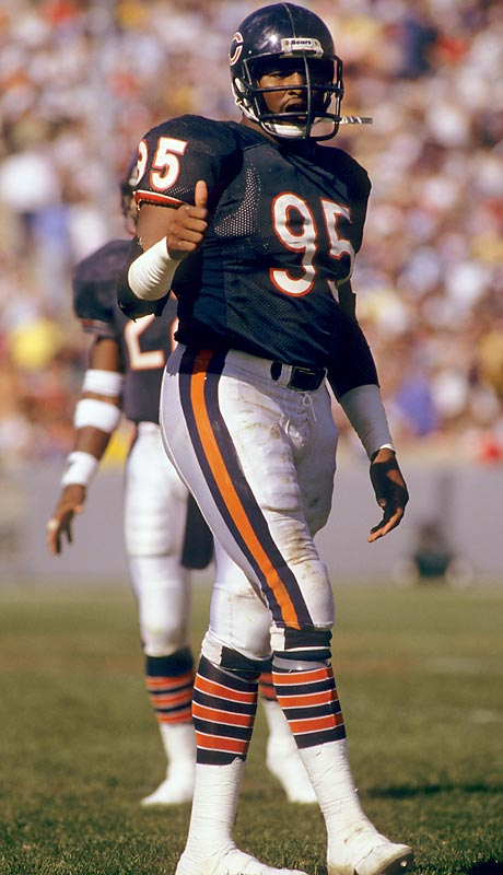 Dent was a central figure on the Bears' 46 defense (he played defensive end) that ate the NFL whole in 1985. That year he led the league with 17 sacks and earned Super Bowl XX MVP honors.<br><br>Runner-up: Bubba Smith (Michigan State).
