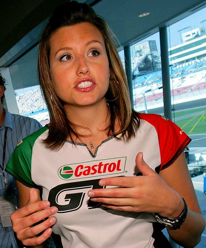 Ashley, the daughter of drag racing legend John Force, is one of the first women to drive a Funny Car on the NHRA circuit. In April, she became the first woman to reach the Funny Car semifinals, winning the first-ever NHRA father vs. daughter match in the first round.
