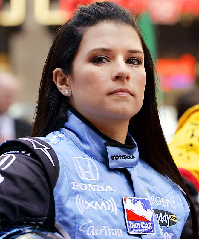 Patrick became the first woman to lead a lap at Indy in the 2005 Indianapolis 500. That year she was the Rookie of the Year for both the 500 and the entire season. Her third-place finish last Sunday at Texas was the best of her career.
