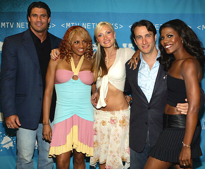"""A self-admitted steroid user (Canseco), Sandi Denton of """"Salt n Pepa,"""" Caprice, Bronson Pinchot, Omarosa Manigault-Stallworth and a three-legged dog all shared the same house for season five of this series."""