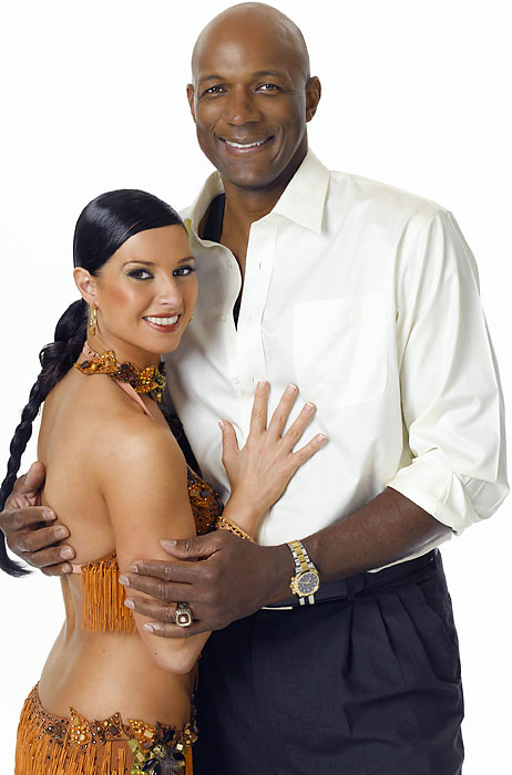 Former NBA All-Star and Olympic Dream Teamer Drexler partnered with Elena Grinenko, but they became the fourth couple to be eliminated that season.