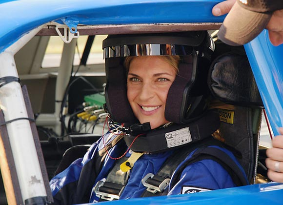 Retired volleyball pro Reece was among 12 celebrity drivers who partnered with six of stock car racing's up-and-coming drivers to learn to compete for the checkered flag. The series, which also starred John Elway, Jewel, William Shatner, Tony Hawk, John Salley, among others, premiered in 2007.