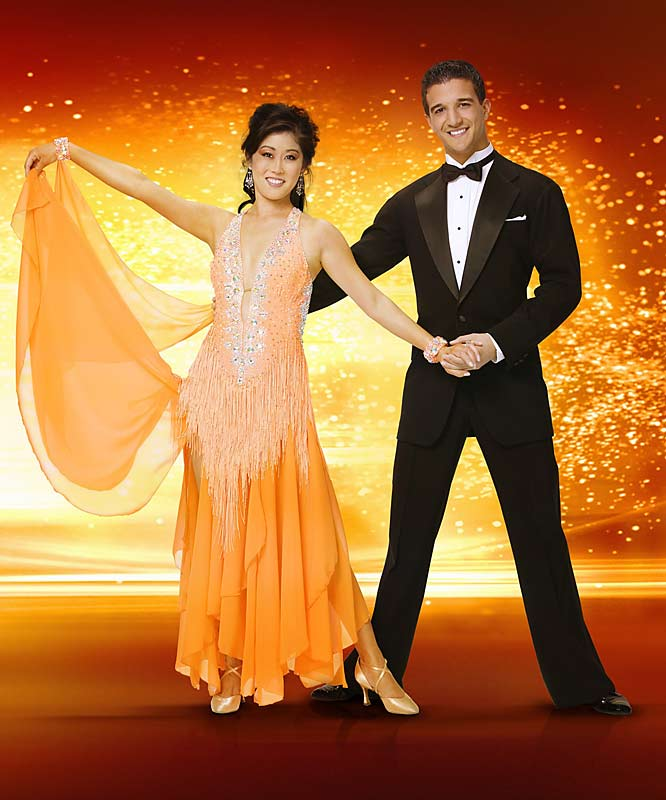 Olympic figure skater Kristi Yamaguchi translated her grace and light feet onto the dance floor to reach the final three of Dancing With the Stars.