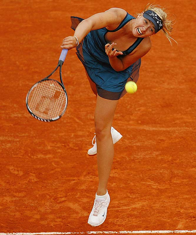 Sharapova (2) defeated Craybas <br>6-2, 6-1