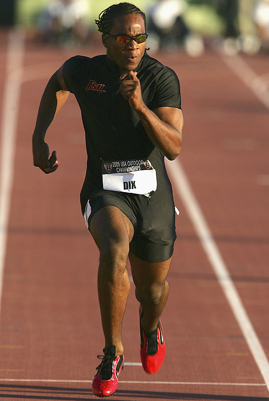 One of the most accomplished amateur sprinters, Florida State's Dix owns the American collegiate records in the 100 and 200.