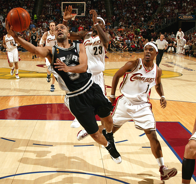 Tony Parker shot 57 percent while averaging nearly 25 points a game in the Spurs' four-game sweep.