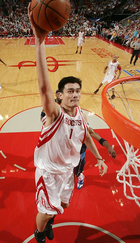 The No. 1 pick in the '02 draft arrived with two agents, a marketing director, an accountant, an attorney, a financial planner, 10 graduate students at the University of Chicago, a handful of operatives in the People's Republic of China and one set of parents. Yao's enormous impact has prompted the NBA to open an office in Beijing and the league has agreements with regional and national television outlets in China.