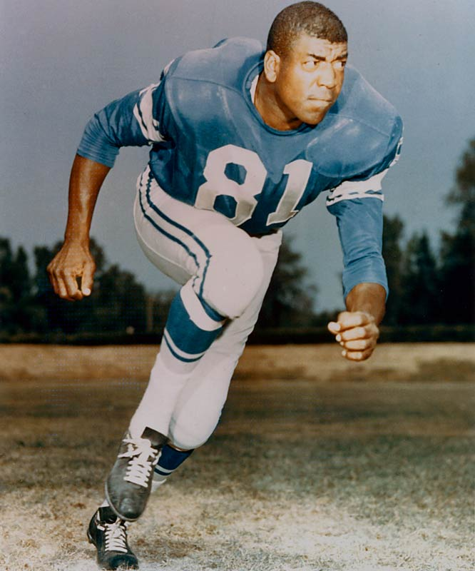 "1952-1953 Los Angeles Rams, 1954-1959 Chicago Cardinals, 1960-1965 Detroit  <br><br>In addition to being a constant threat to intercept passes, he was also seen as a devastating tackler. Lane was known for tackling by the head and neck. This type of tackle, outlawed today, was sometimes called a ""Night Train Necktie."""
