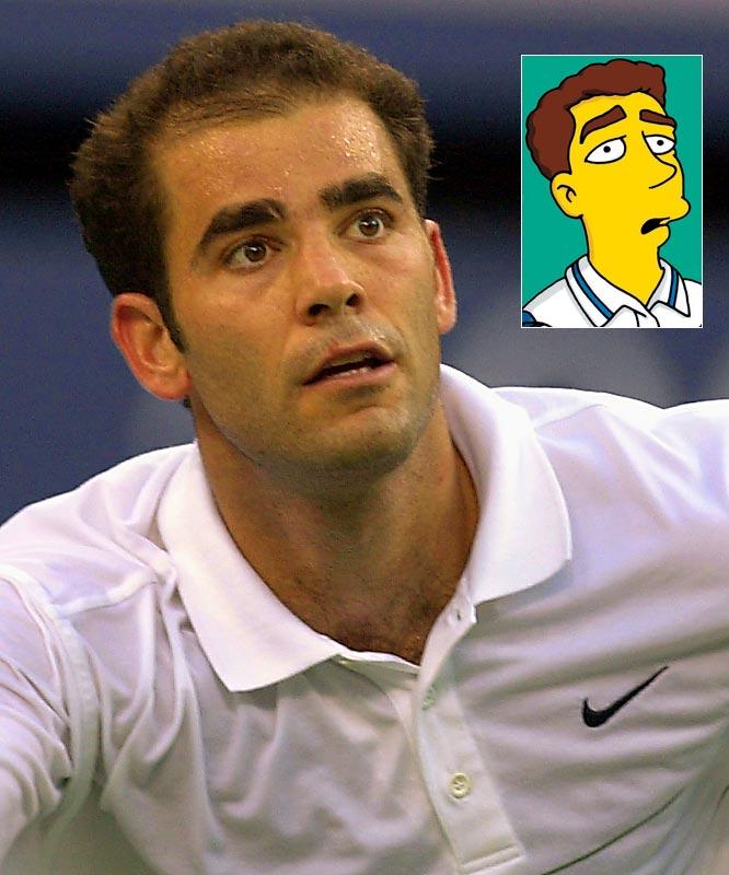Episode: Tennis the Menace <br>First aired: Feb. 11, 2001 <br><br>Memorable moment: <br><br>Sampras:<i> C'mon, let's play!  I've gotta tape a Ho Hos commercial.</i>