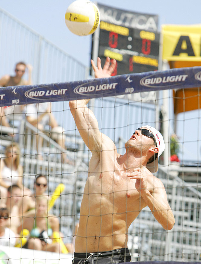 The 6-7 Gibb is a Utah native and one of only a handful of players on the AVP Tour that did not play volleyball in college. He has won eight events, including back-to-back wins with partner Sean Rosenthal at Tampa and Atlanta this summer.