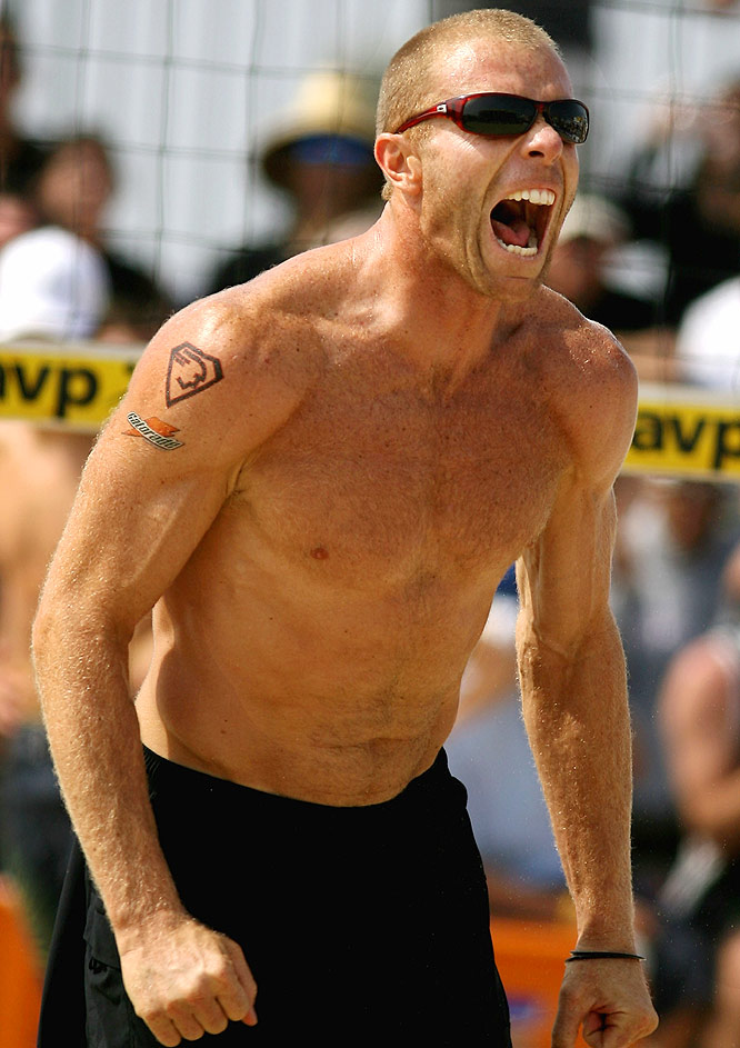 One of the more demonstrative players on tour, Jennings is married to women's player Kerri Walsh. They both won titles on the same weekend at Seaside, N.J., in 2006.