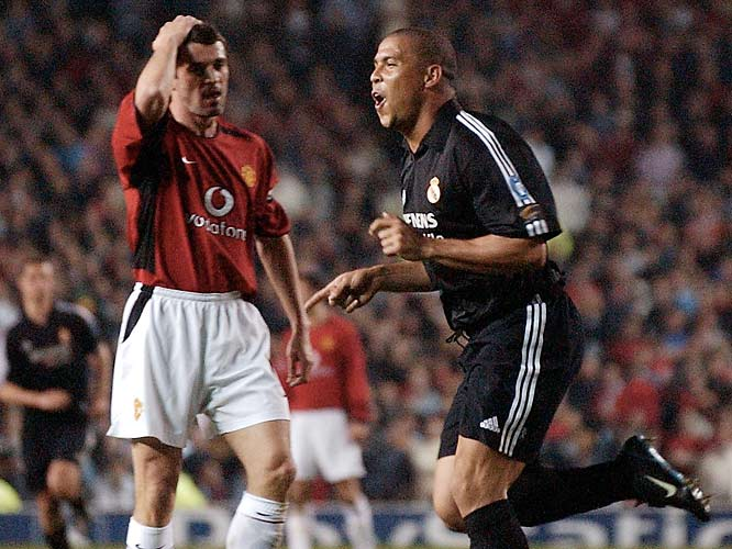 Manchester United won the game (4-3), but Real Madrid won the series (6-5) in the 2003 Champions League quarterfinals. In the end, the viewing public was the biggest winner.
