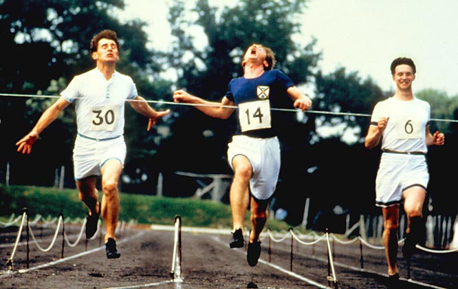 It's amazing that a movie about Caucasian sprinters, some of whom look slow even for the 1924 Olympics, won the Academy Award for best picture in the go-go '80s. But there's so much heart at the finish line that we accept the lack of soul on the blocks.