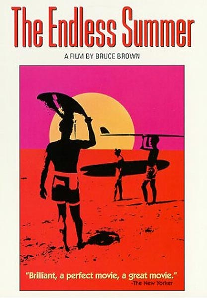 Writer-director-narrator Bruce Brown followed surfers Mike Hynson and Robert August around the world in search of the perfect wave. The story line is small, but sweet. In this classic you can see the DNA of every surf movie that came after.