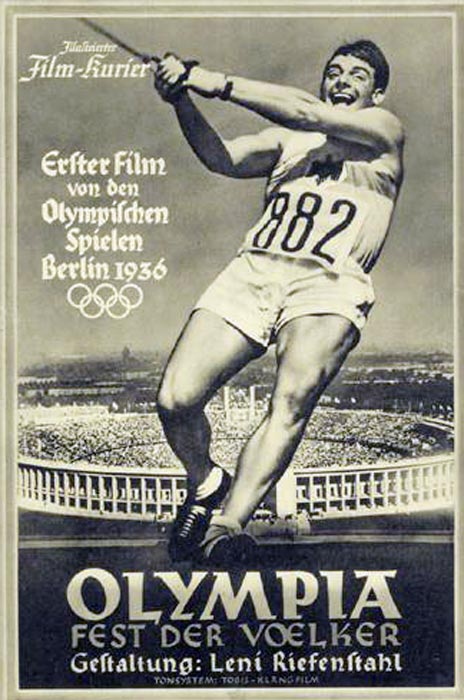 "Intended as Nazi propaganda, Leni Riefenstahl's film is also a lyrical account of the Berlin Olympics. Critic Pauline Kael called it an elegy on youth, ""dedicated to the highest ideals of sportsmanship--these young men who were so soon to kill each other."""