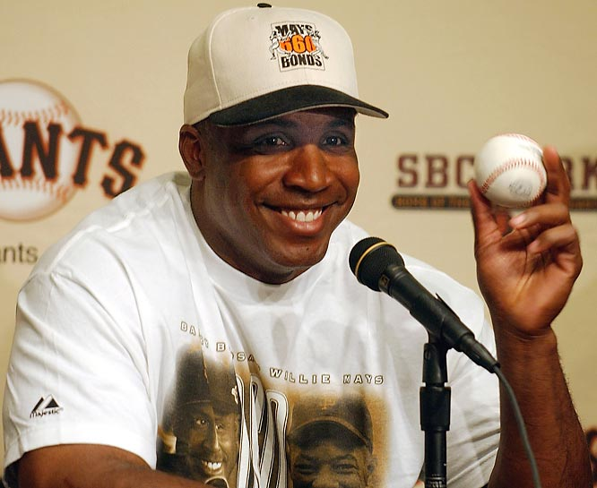 """I'm not worried about the Hall. I take care of me."" <br><br> -- May 2007, on whether he will share anything from his home run chase with the Hall of Fame. Bonds later agreed to donate an artifact from his 756th home run to the Hall."