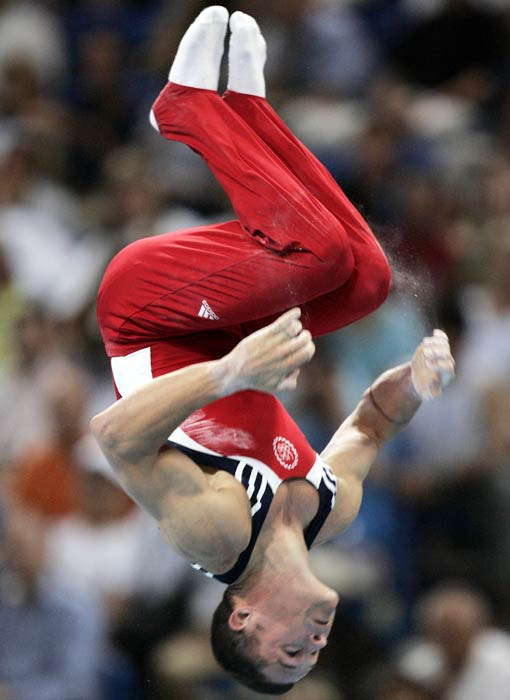 Wilson was recognized as the best male athlete in the Big Ten in 1997 after win his second straight all-around NCAA gymnastic championship. In total, Wilson won six NCAA individual titles, seven Big Ten titles and five U.S. championships.