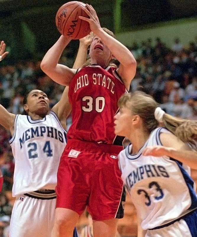 In 2002, the Ohio State Touchdown Club named Smith the school's best female athlete of the 20th Century. During her time in Columbus, Smith was an All-American, led the Buckeyes to the 1993 national championship game, and set the Big Ten's all time basketball scoring record--for men or women (she currently ranks second).