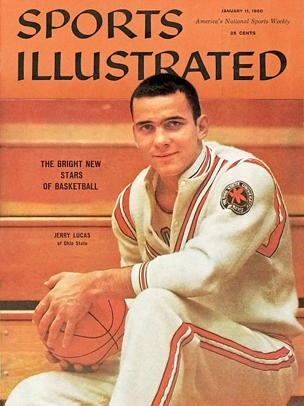 Lucas led his team to a 78-6 record and the 1960 NCAA championship on teams that included John Havlicek and Bobby Knight. The clear leader of those teams, Lucas was a three-time All-American and was recognized for his greatness when he was named SI's Sportsman of the Year in 1961.