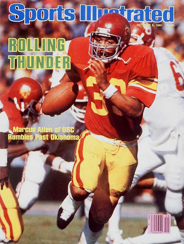 Allen has been enshrined in the College Football Hall of Fame and has seen his No. 33 retired by USC in large part due to his 1981 season, one of the best in the sport's history. Allen rushed for an NCAA-record 2,342 yards the year on his way to winning the Heisman.