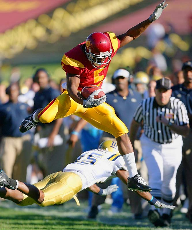 During his sophomore year in 2004, Bush was the team's MVP, a consensus All-American and fifth in the Heisman Trophy voting, despite not having started a single game for the undefeated national champion Trojans. In 2005, Bush was the best player in college football, winning the Heisman Trophy for his 222.3 all-purpose yards per game.