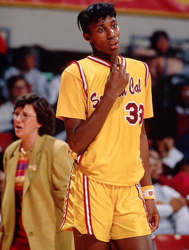 Leslie, who averaged more than 20 points per game over her career and led the Trojans to four NCAA tournaments, is the Pac-10's all-time leader in points, rebounds and blocked shots. She was named National Player of the Year during her senior season in 1993-94.