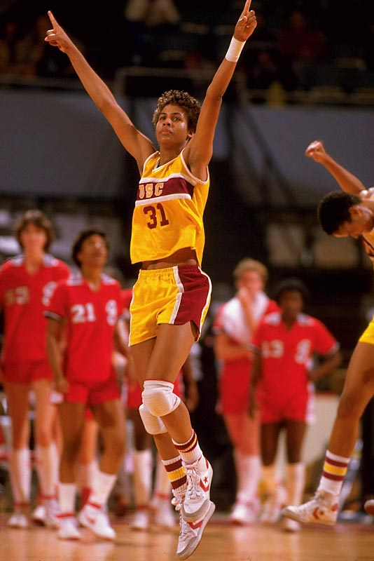 A four-time All-American, Miller earned the Naismith Player of the Year Award three times in her four years. Her teams won the NCAA titles in 1983 and 1984, with Miller winning tournament MVP honors both times.