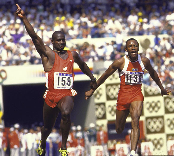 Johnson tested positive for stanozolol after his world record, gold medal-winning performance in the 100 meters at the 1988 Olympics in Seoul, South Korea. He initially denied knowingly using steroids, but he later admitted it during a Canadian government inquiry. After serving a suspension and being stripped of his medal and record, Johnson returned to racing, only to test positive for testosterone doping in 1993 and earn a lifetime ban.<br><br>Send comments to siwriters@simail.com.