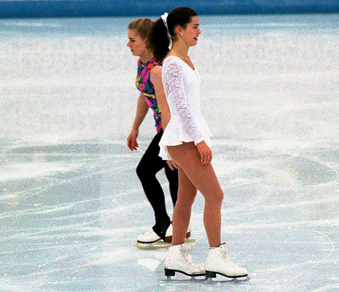 Wanting her competition out of the way in the Olympics, Harding conspired with ex-husband Jeff Gillooly and his hired henchman, Shane Stant. Stant clubbed Kerrigan on the knee with a metal baton on Jan. 6, 1994, during a practice session at the U.S. Figure Skating Olympic trials. Kerrigan was forced to withdraw from the competition, but was waived onto the team. Harding, who placed first at the trials, placed eighth at Lillehammer amid a swirl of controversy before eventually admitting she hindered the prosecution of those involved in the attack. She was later banned for life by the U.S. Figure Skating Association.