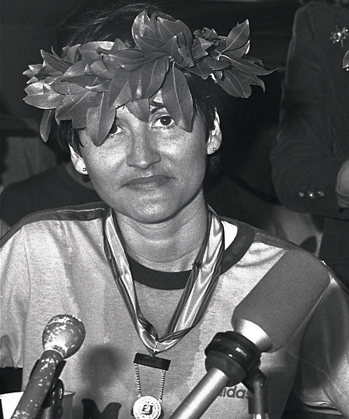 Ruiz reached the finish line of the 1980 Boston Marathon first, and did so without a sweat, after entering the race in the final half-mile. She was eventually stripped of her title. Ruiz earned her spot in the race by posting a terrific time in the New York Marathon, in which she reportedly rode the subway for much of the race.
