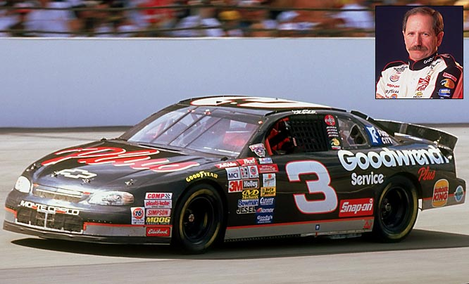 NASCAR Nation weighed in to let us know that Earnhardt Sr., winner of seven Winston Cup championships, was a better No. 3 than Babe Ruth. The Intimidator won 76 races and had 428 Top 10 finishes.