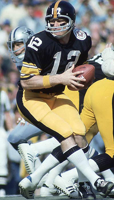 Plenty of people said we were crazy to pick Tom Brady over Bradshaw, the MVP in Super Bowls XIII and XIV and the winner of four Super Bowl titles. He led the Steelers to eight division titles in 14 years and was the NFL MVP in 1978.
