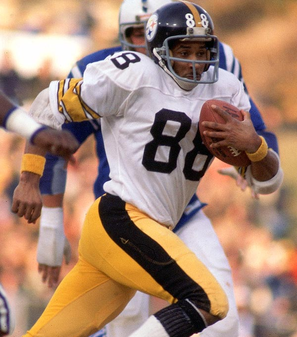 A graceful receiver with a penchant for the big catch, Swann was a three-time Pro Bowl selection and the MVP of Super Bowl X with four catches for a then-Super Bowl record 161 yards and a touchdown. We had him behind Alan Page and Marvin Harrison.