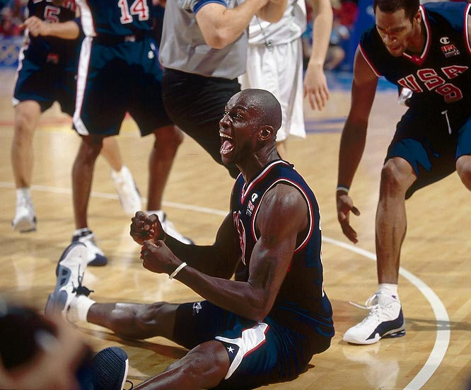 Garnett was the second-leading scorer in the 2000 U.S. Olympic team, which won eight consecutive games en route to the gold medal in Sydney.