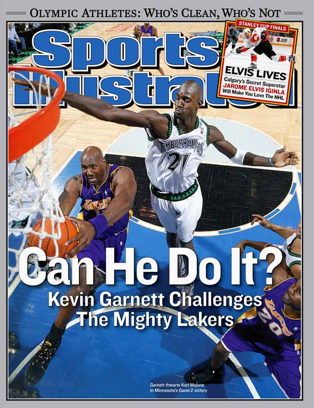 Garnett and the Timberwolves reached the conference finals in 2004, the first advancement for KG after six consecutive first-round exits. But Minnesota lost to the Lakers in six games, after which Garnett and Co. endured three consecutive playoff-less seasons.