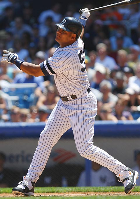 The longtime Phillies outfielder was shipped to the Yankees for four nondescript minor leaguers in what was essentially a salary dump. Abreu batted .330 with seven home runs down the stretch to help New York pull away from Boston in the AL East race.