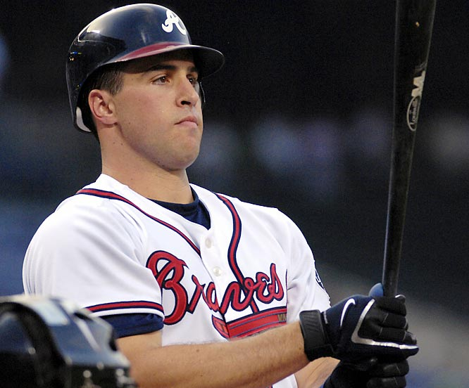A day before the trade deadline, the Braves sent five young players to the Rangers, including stud catching prospect Jarrod Saltalamacchia, in exchange for All-Star first baseman Mark Teixeira and left-hander Ron Mahay. It didn't take long for deal to pay off -- Teixeira homered in his Atlanta debut and drove in four runs.